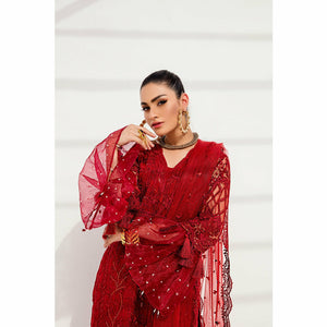 A-Meenah | Vermillion Luxe Pret Collection 21 | AVL-03 - House of Faiza