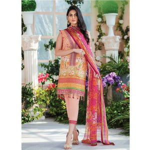 Gulaal Cielo Lawn 2020 Vol 1 - GL06 Bonita - House of Faiza