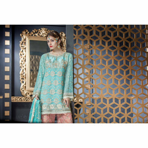 Maryum N Maria Chiffon Collection | Shiny Blush - FMM-209