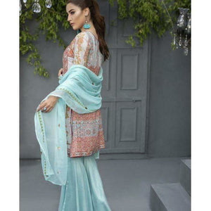 Ayesha Chottani Women's Embroidered Ready To Wear Suit