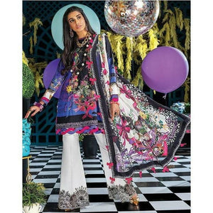 Zaha Fabulous 35 Lawn 20 Vol 1 - 10 - House of Faiza