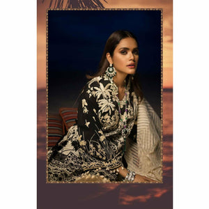 Sana Safinaz Luxury Lawn 2020 - 10A - House of Faiza