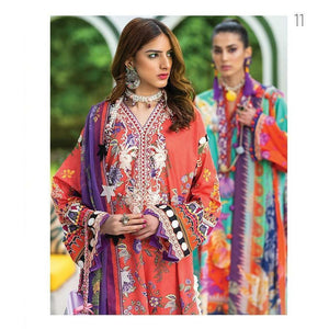 Zaha Fabulous 35 Lawn 20 Vol 1 - 11 - House of Faiza