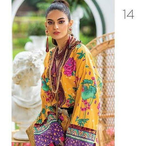 Zaha Fabulous 35 Lawn 20 Vol 1 - 14 - House of Faiza