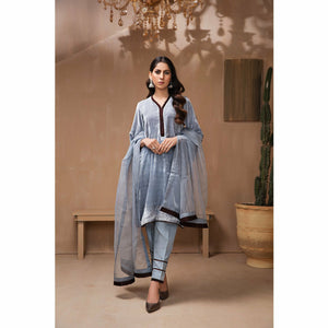 Shaz-E-Ena | Velvet Pret V1 2021 | Design 07 - House of Faiza