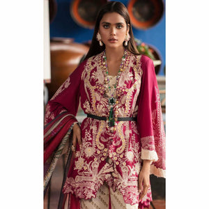 Sana Safinaz Luxury Lawn 2020 - 16A - House of Faiza