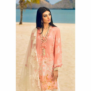 Sana Safinaz Luxury Lawn 2020 - 17A - House of Faiza