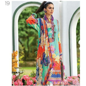 Zaha Fabulous 35 Lawn 20 Vol 1 - 19 - House of Faiza