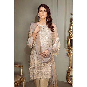 Baroque Embroidered Women's Suit, Pakistani Designer Clothes, ready made pakistani clothes uk