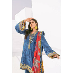 Baroque | Fuchsia Lawn 20 | VASL - House of Faiza