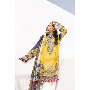 Baroque | Fuchsia Lawn 20 | SOSNY - House of Faiza