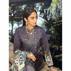 Salitex | Linen Digital Winter | 3pc | WK-00620 - House of Faiza