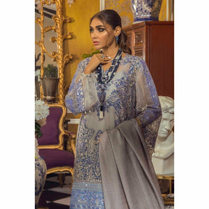 Sana Safinaz | Muzlin Eid Collection 21 | M212-001B-CV - House of Faiza