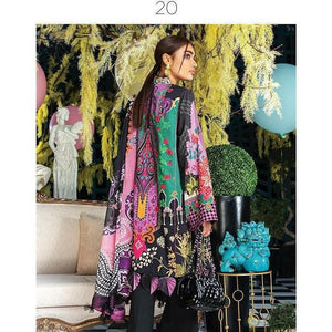 Zaha Fabulous 35 Lawn 20 Vol 1 - 20