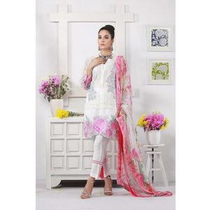 Azure | Chiffon Collection - Floral Mania (06)
