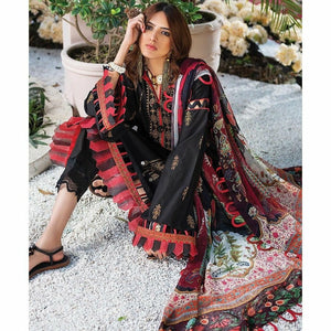 Zaha Fabulous 35 Lawn 20 Vol 1 - 22 - House of Faiza