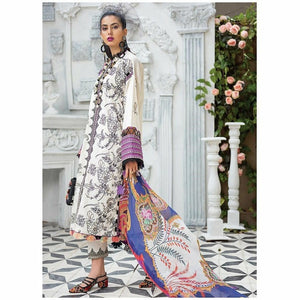 Zaha Fabulous 35 Lawn 20 Vol 1 - 25 - House of Faiza