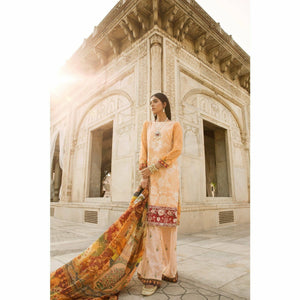 Qalamkar - NEGAR | Embroidered, Printed Women's Suit