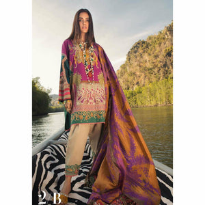 Sana Safinaz Luxury Lawn 2020 - 02B - House of Faiza