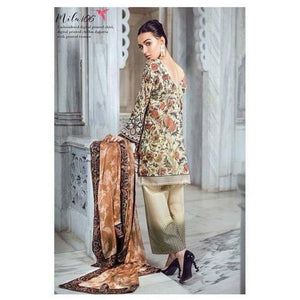 TENA DURRANI - Mila 06 | Embroidered, Printed Fully Stitched Women's Suit