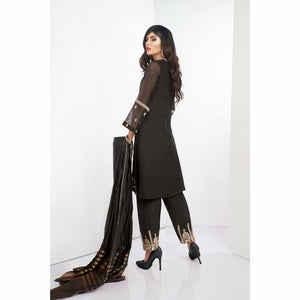 A-Meenah Semi Formal Pret 20 | 02 Black - House of Faiza