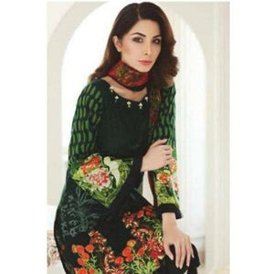 MAHNOOR EID COLLECTION - 4A | Embroidered, Printed Fully Stitched Women's Suit