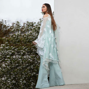 SANA SAFINAZ - LUXURY COLLECTION - 4B | Fully Stitched Embroidered Women's Suit