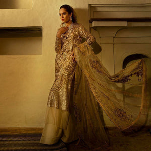 SANA SAFINAZ - LUXURY COLLECTION - 3A | Fully Stitched Embroidered Women's Suit