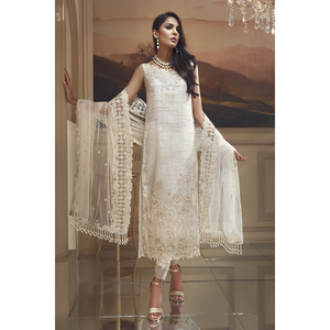 Anaya by Kiran Chaudhry The Wedding Edit 2018 - AWC 07 - IVORY HARVEST