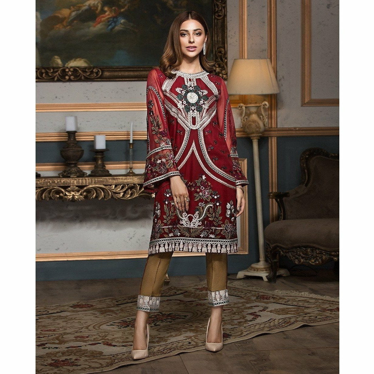 XENIA | LUXURY FORMALS | RED DIVINE