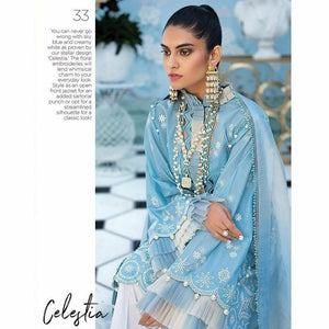 Zaha Fabulous 35 Lawn 20 Vol 1 - 33 - House of Faiza