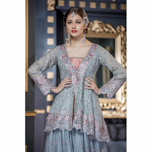 Maryum N Maria Chiffon Collection | Silver Stone - FMM-210