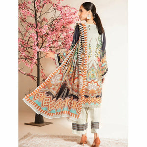 Nur | Embroidered Printed Collection | J-16 - House of Faiza