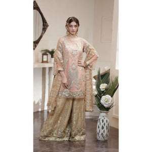 Maryum N Maria Chiffon Collection | Shiny Peach - FMM-10