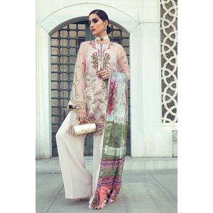 ELAN 01 ELIF | Printed, Embroidered Fully Stitched Women's