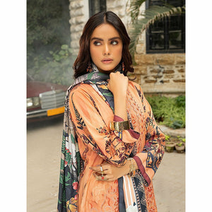 Salitex | Linen Digital Winter | 3pc | WK-00609 - House of Faiza