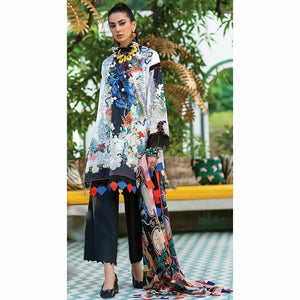 Zaha Fabulous 35 Lawn 20 Vol 1 - 04 - House of Faiza