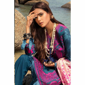 Sana Safinaz Luxury Lawn 2020 - 04B - House of Faiza