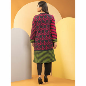 Limelight | Printed Khaddar | 2Pc | U1162SH-SSH-PNK - House of Faiza