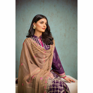 Jaipur By ZS Textiles | 3 Piece Embroidered Jacquard Collection | JJ3-5