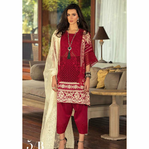 Sana Safinaz Luxury Lawn 2020 - 05B - House of Faiza