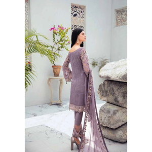 Ramsha | Rangoon Vol 6 Embroidered Chiffon 20 | D-609 - House of Faiza