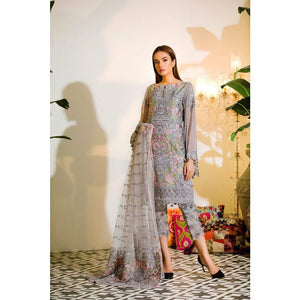 RAMSHA | EMBROIDERED CHIFFION | A110