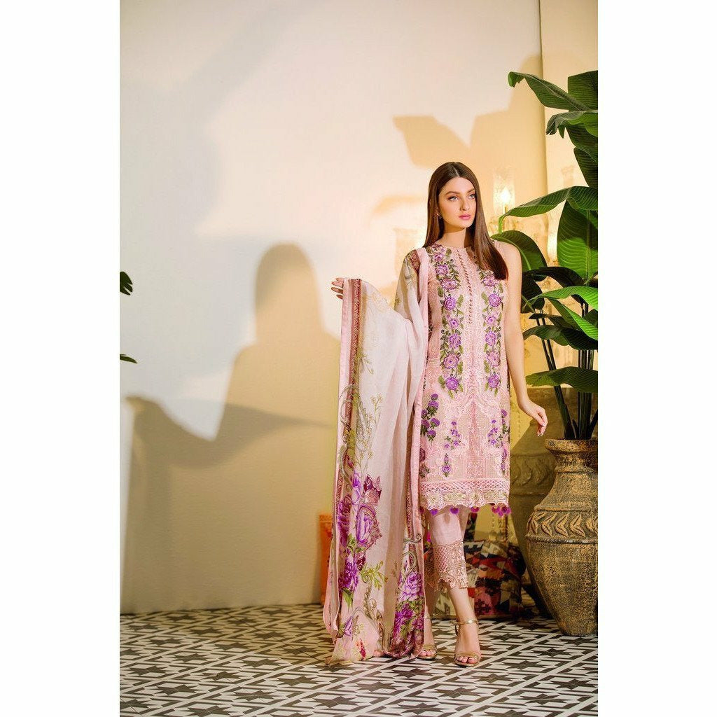 RAMSHA | EMBROIDERED CHIFFION | A108