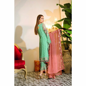 RAMSHA | EMBROIDERED CHIFFION | A107
