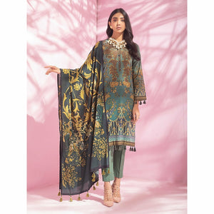 Salitex | Malabis Digital Printed Lawn 21 | 3pc | IP-64 - House of Faiza