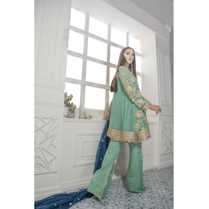 Maryum N Maria Chiffon Collection | Pistachic Pride - FMM-309