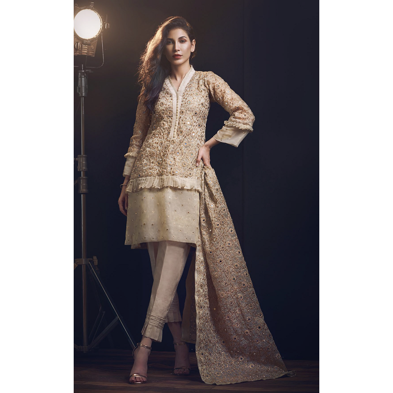 pakistani clothes online A-meenah collection