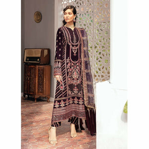 Naghma Luxury Velvet | Gul-E-Raana - House of Faiza