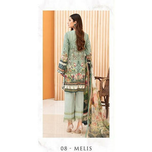 Jazmin |  Iris Lawn 20 Vol 2 | 08 Melis - House of Faiza